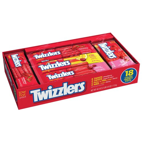 ***DISCONTINUED***Twizzlers Assortments Twizzler Variety Pack