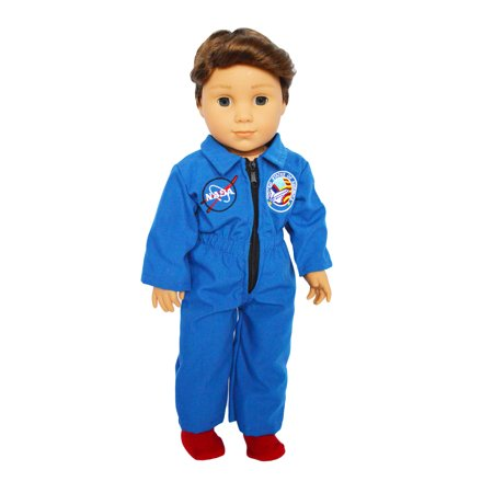 My Brittany's Nasa Flight Suit for American Girl Dolls- 18 Inch Doll  Clothes](Doll Suit)