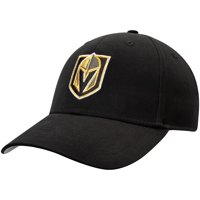 Men's Black Vegas Golden Knights Mass Basic Adjustable Hat - OSFA