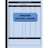 Simple Ledger: Checking Account Ledger : Check and Debit Card Register 100 Pages 2,400 Entry Lines Total: Size = 8.5 x 11 Inches (Series #2) (Paperback)