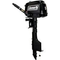 Coleman Powersports 5 hp Manual Start Outboard Motor - Short Shaft