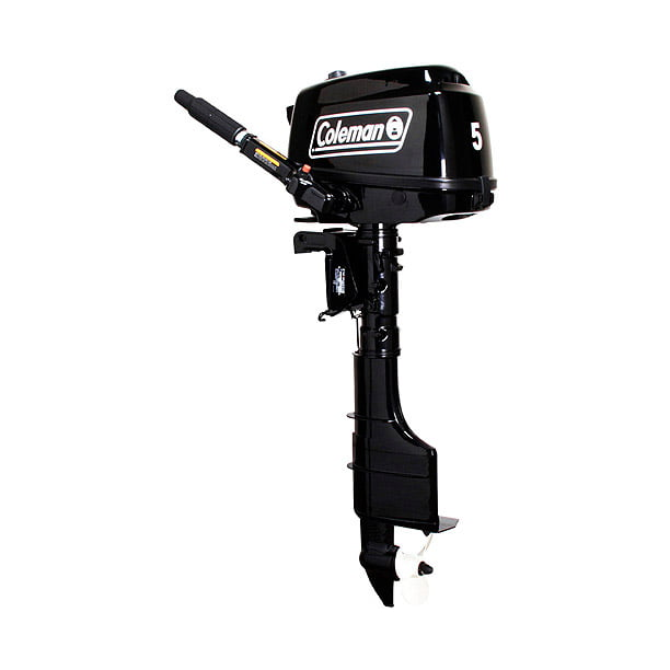 Coleman Powersports 5 hp Manual Start Outboard Motor - Short Shaft