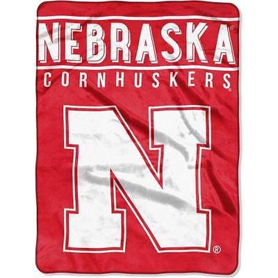 Nebraska Cornhuskers Blanket 60x80 Raschel