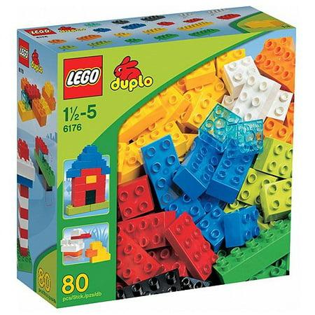 - LEGO 6176 DUPLO Basic Bricks Deluxe (80 Pcs.)