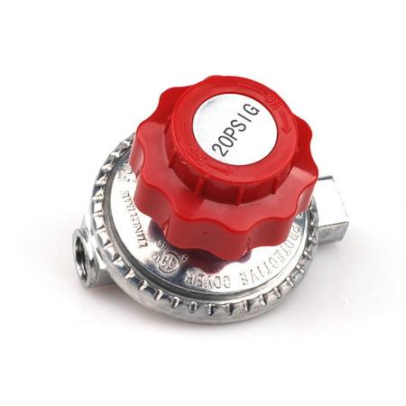 Adjustable 0 to 20psi Propane Regulator LP Gas Heater Stove Cylinder