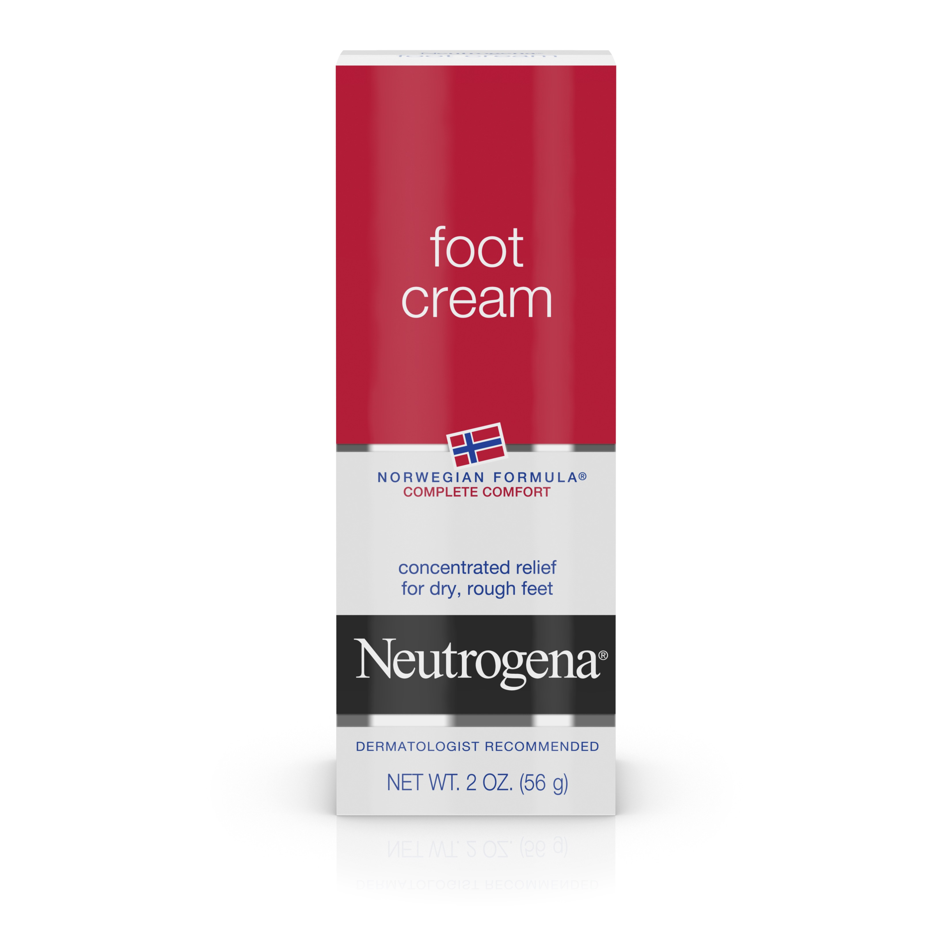 Neutrogena Norwegian Formula Moisturizing Foot Cream, 2 Oz. - Walmart.com