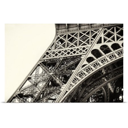 Great Big Canvas Scott Stulberg Poster Print Entitled Close Up Of The Eiffel Tower In Paris  France