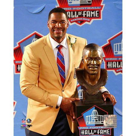 Michael Strahan 2014 Hall Of Fame Induction Ceremony Photo Print
