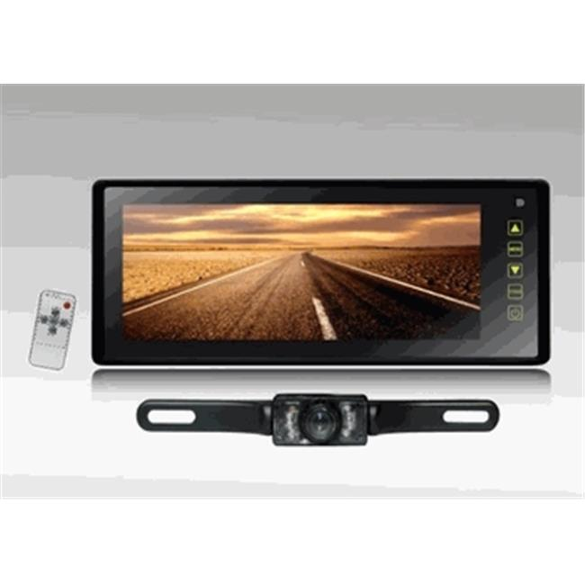 Tview 8. 8 inch TFT Monitor Built in Rear View Mirror, Back up camera