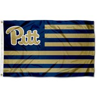 Pittsburgh Panthers American Flag Design 3' x 5' Flag