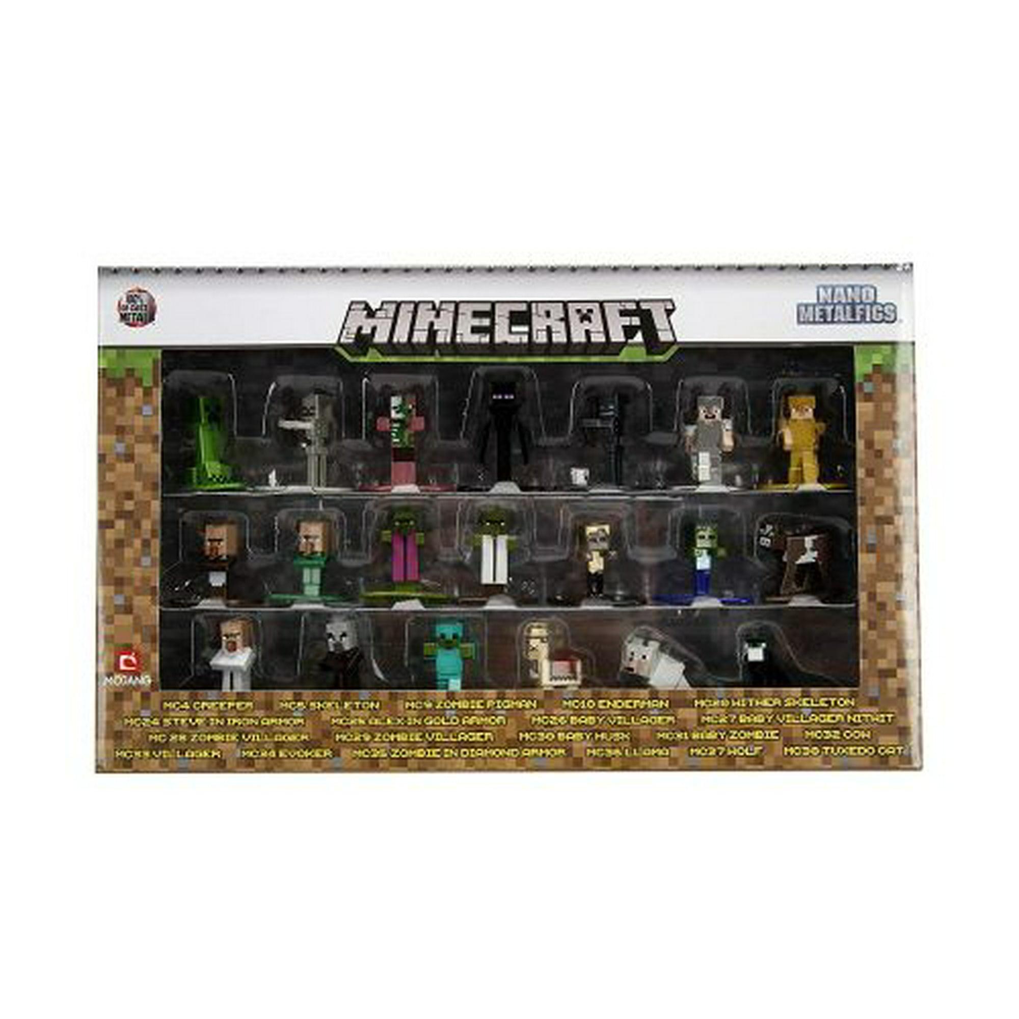Jada Toys Minecraft 20 Pack Nan Metal Figures Walmart Canada