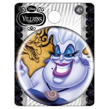 Ursula Disney Villians Button Pin