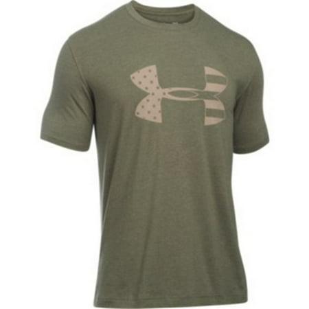 Under Armour 1281545 Men's OD Green Tonal BFL Short Sleeve T-Shirt - Size