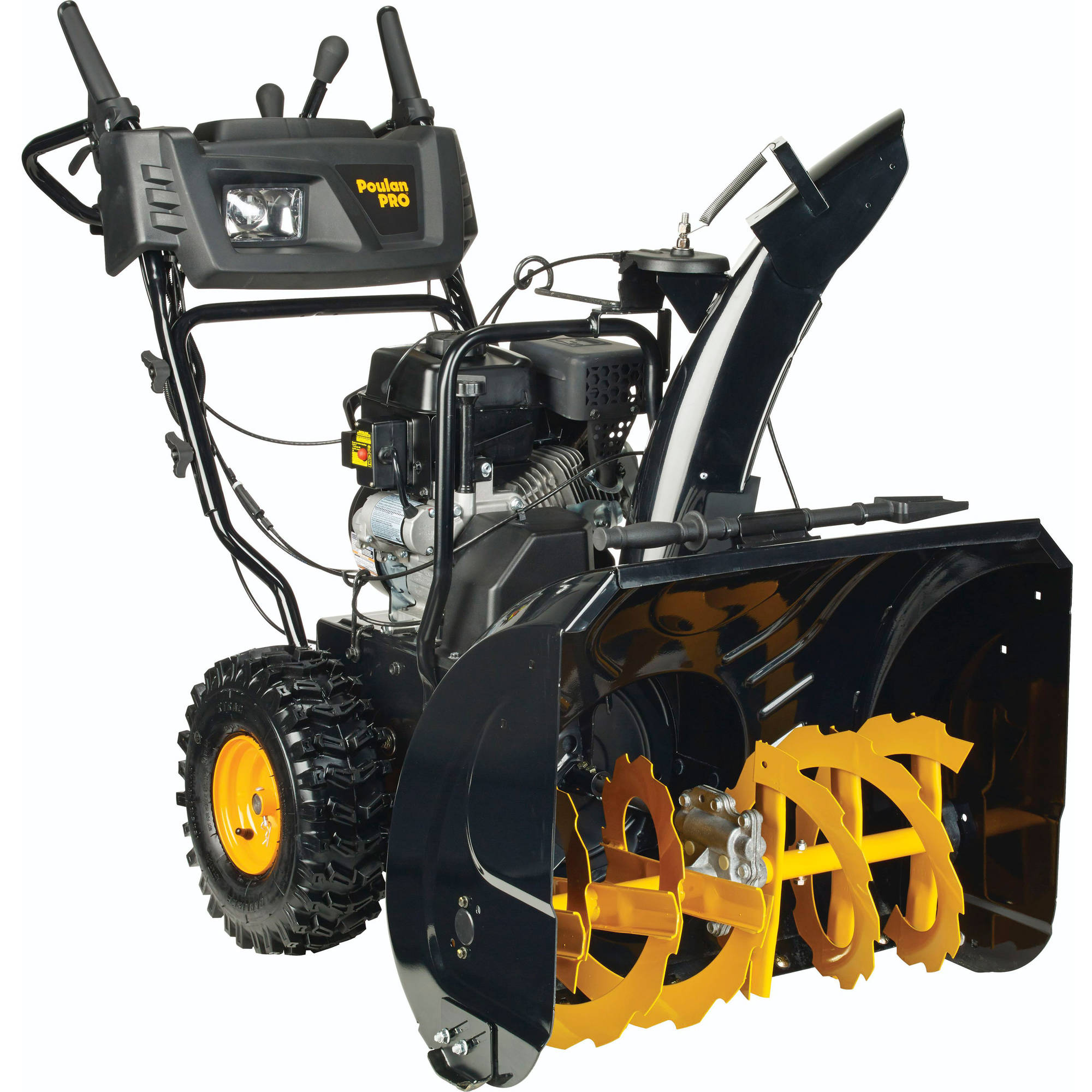 """Poulan Pro 27"""" 208cc Two Stage Snow Thrower w/Power Steering"""