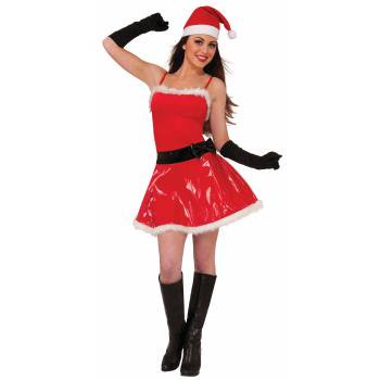 NAUGHTY GIRL SASSY SANTA-XS/S - Naughty Santa Costumes