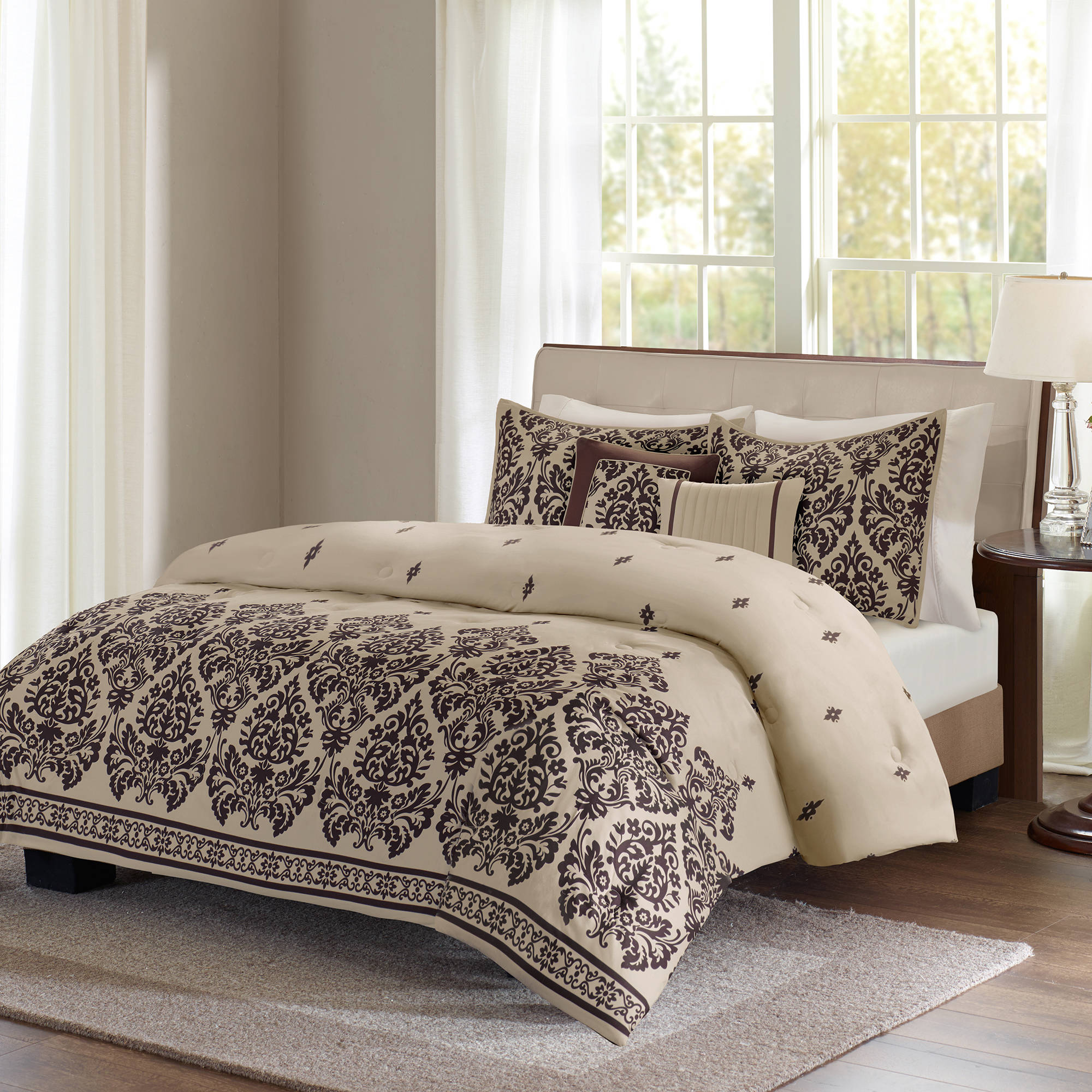 Better Homes and Gardens 5pc Damask Comforter Set