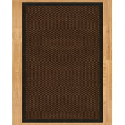Natural Area Rugs Triton Hand Crafted Black Area Rug