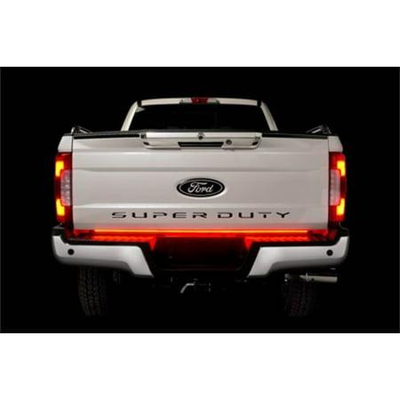 Putco 92010-60 RED Blade LED Tailgate Light Bar; 60 in. Blade LED Light Bar w/Blis And Trailer Detection; (Led Trailer Light Bar)