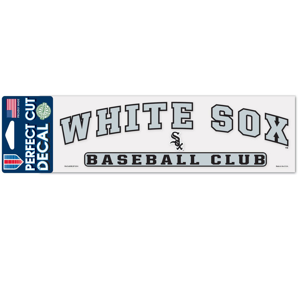 "Chicago White Sox WinCraft 3"" x 10"" Arch Perfect Cut Decal - No Size"