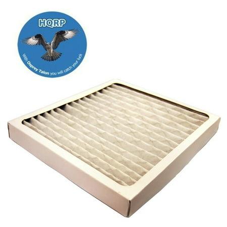 Air Bench - HQRP Filter for Hamilton Beach 04381 O4381 True Air Allergen Reducing Filter + HQRP Coaster