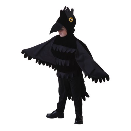 Toddler Crow Costume (Charlie Crow Children's Costumes)