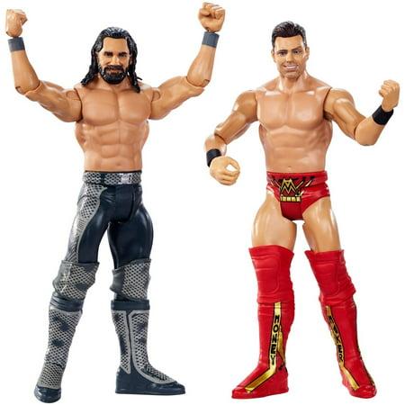 WWE Wrestlemania Seth Rollins vs the Miz 2-Pack