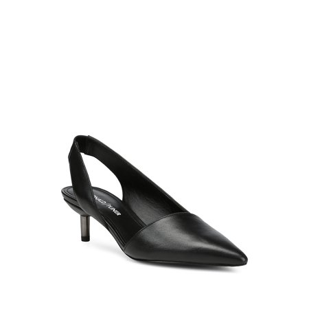 fb843f91258 Donald J Pliner - Birdie Leather Slingback Pumps - Walmart.com