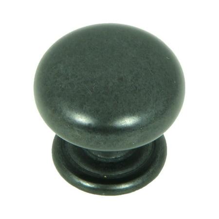 Stone Mill Hardware - Antique Black Caroline Cabinet Knob