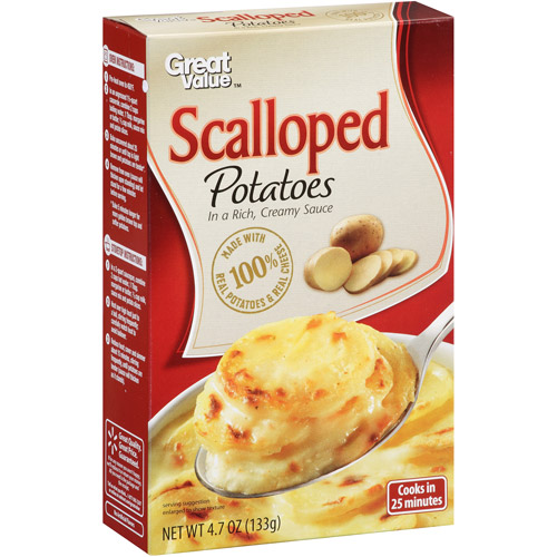 Great Value Scalloped Potatoes, 4.7 oz