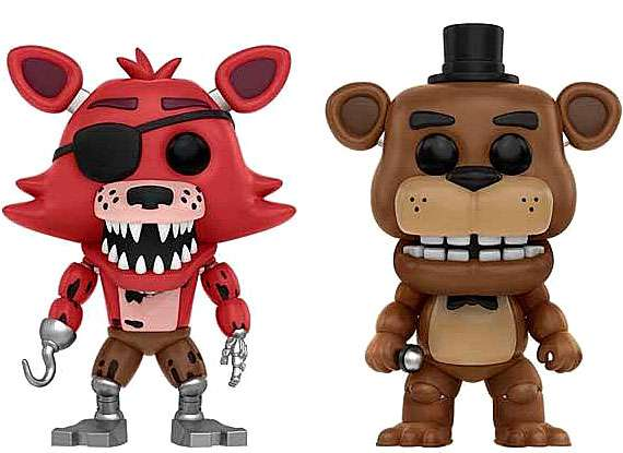 Five Nights at Freddy's Funko POP! Games Foxy the Pirate with Freddy Vinyl Figure 2-Pack by Pop!