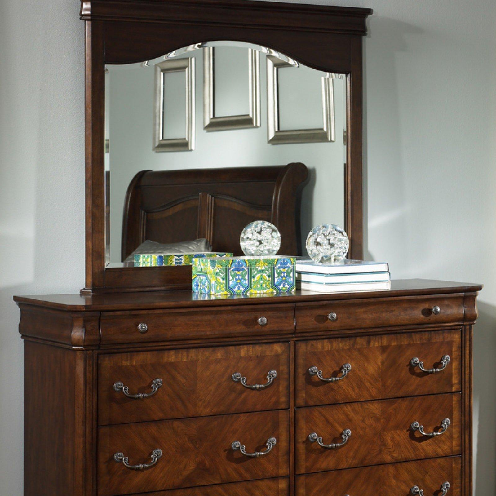 Liberty Furniture Alexandria Autumn Brown 8 Drawer Dresser
