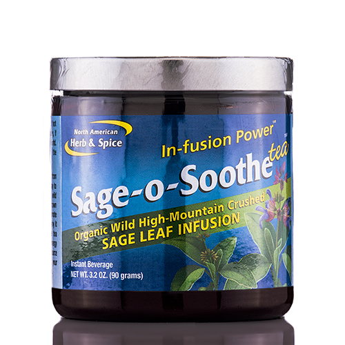 Sage-o-Soothe Tea - 3.2 oz (90 Grams) by North American Herb and Spice