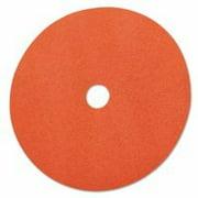 Fibre Discs 985C, Ceramic, 7 In Dia., 36 Grit
