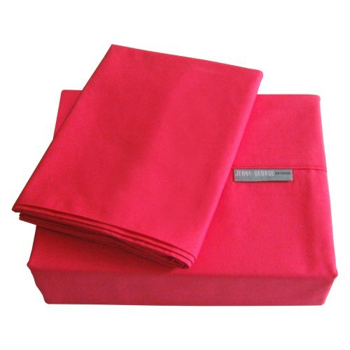 Jenny George 200 Thread Count Solid Color Bright Sheet Set