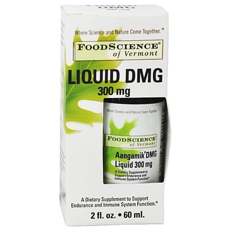 Food Science of Vermont Aangamik Liquid DMG 300 mg 2 fl oz