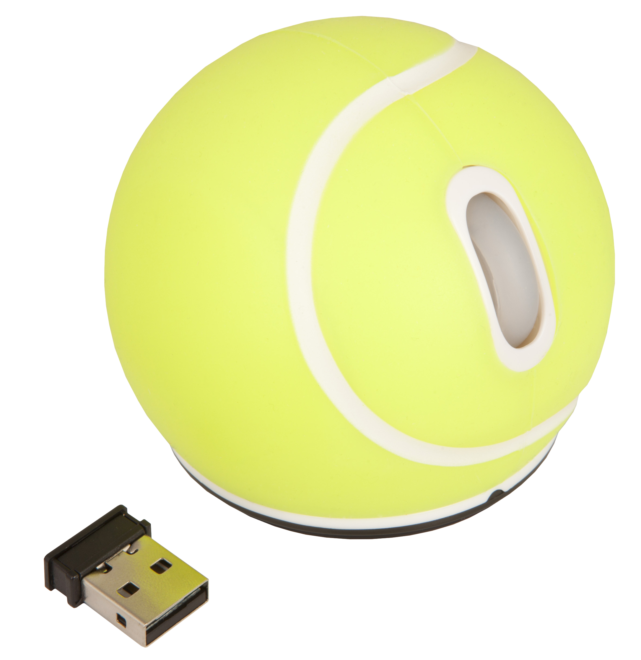 Urban Factory Wireless Mouse - Tennis Ball Form