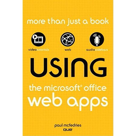Using the Microsoft Office Web Apps - eBook (Best App For Microsoft Office)
