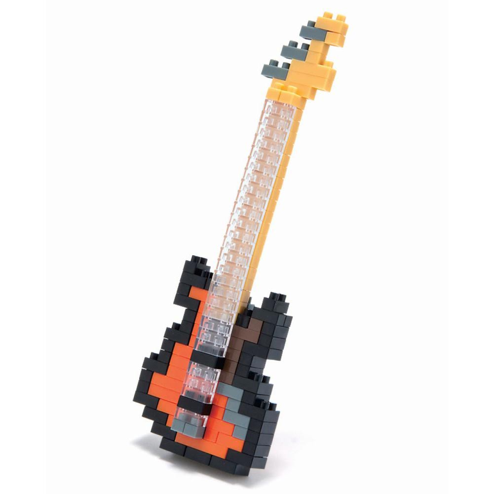 Bass Guitar Nanoblock Puzzle by Schylling