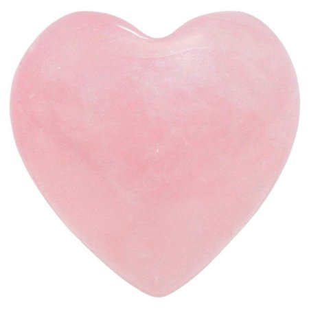 General Gemstone Healing Crystal Natural Rose Quartz Heart Love Carved Palm Worry Stone Chakra Reiki Balancing Gemstone Crystal Palm Stone