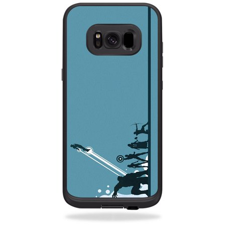 Skin For LifeProof Samsung Galaxy S8+ Plus fre Case – Super Squad | MightySkins Protective, Durable, and Unique Vinyl Decal wrap cover | Easy To Apply, Remove, and Change Styles | Made in the