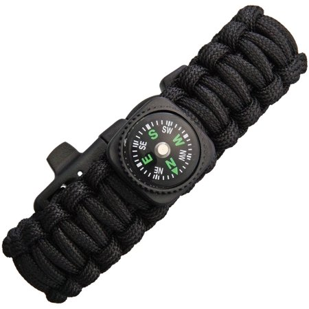 Paracord Bracelet With Compass - Paracord Compass