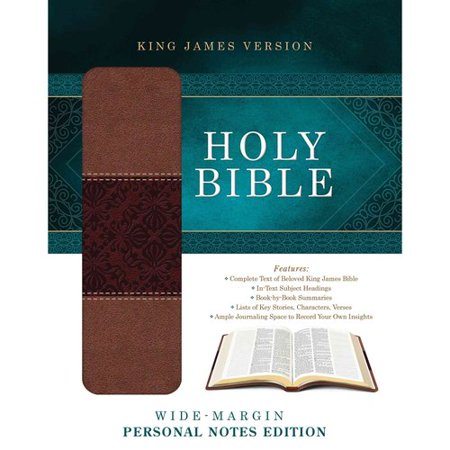 Holy Bible  Wide Margin Personal Notes Edition