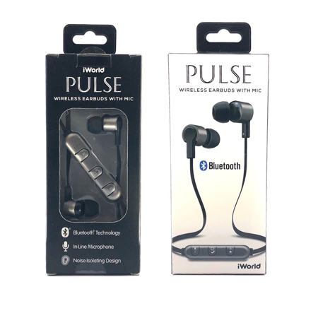 Iworld Mega Pulse Bluetooth Earbud As Low As 1 0 Upc 840824110048 Dexter Clearance