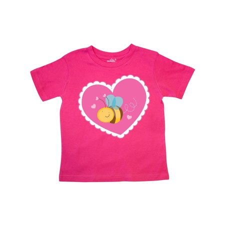 Bee Valentine Toddler T-Shirt (Bee Valentine)
