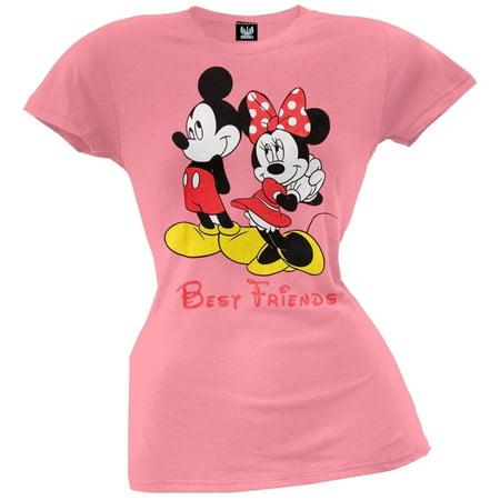 Mickey Mouse - Best Friends Juniors T-Shirt