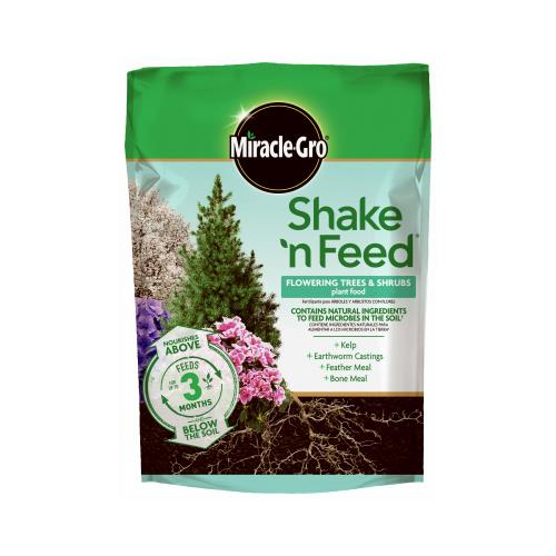 Miracle-Gro Shake 'N Feed Flowering Trees & Shrubs Plant Food 8 lb