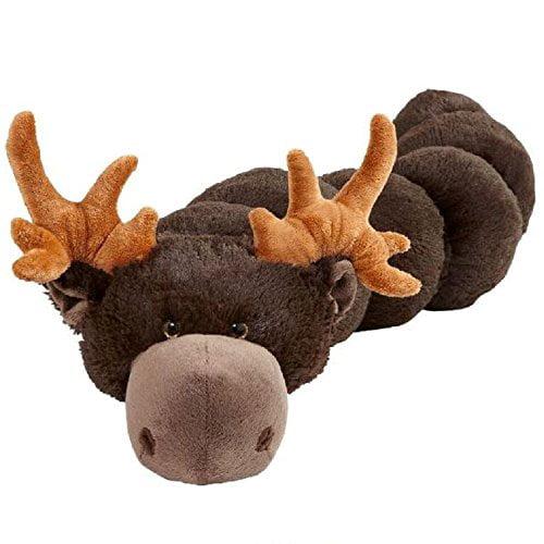 Moose Body Pillars Chocolate Moose Body Pillow Stuffed Animal