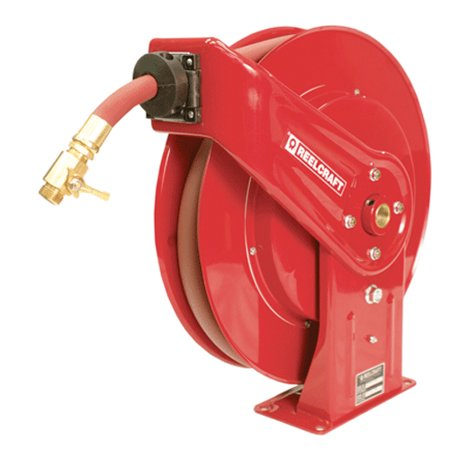 Reelcraft Gc7925 Olp 3 4  X 25 Spring Retractable Heavy Duty Water Hose Reel