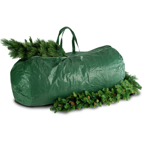 National Tree Heavy-Duty Tree Storage Bag with Handles and Zipper, Fits up to 9' Tree