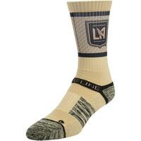 LAFC Team Primary Logo Crew Socks - Gold